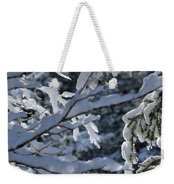First Snow II Weekender Tote Bag