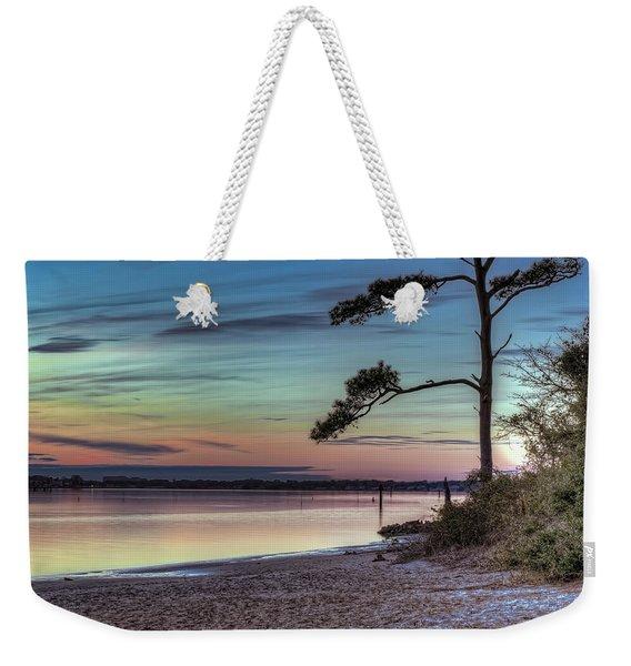 First Sunset Weekender Tote Bag