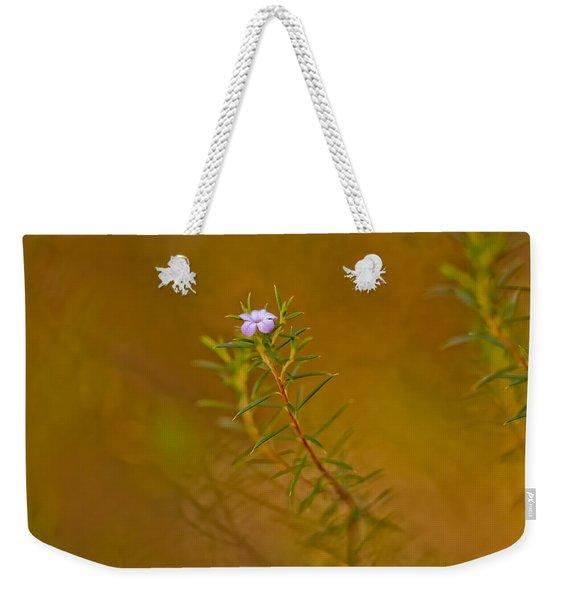 First To Flower Weekender Tote Bag