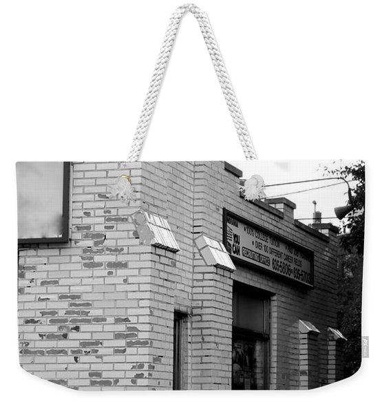First White Castle Weekender Tote Bag