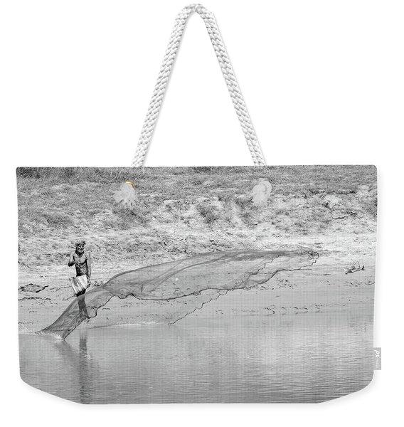 Fisherman On The Lower Ganges Weekender Tote Bag