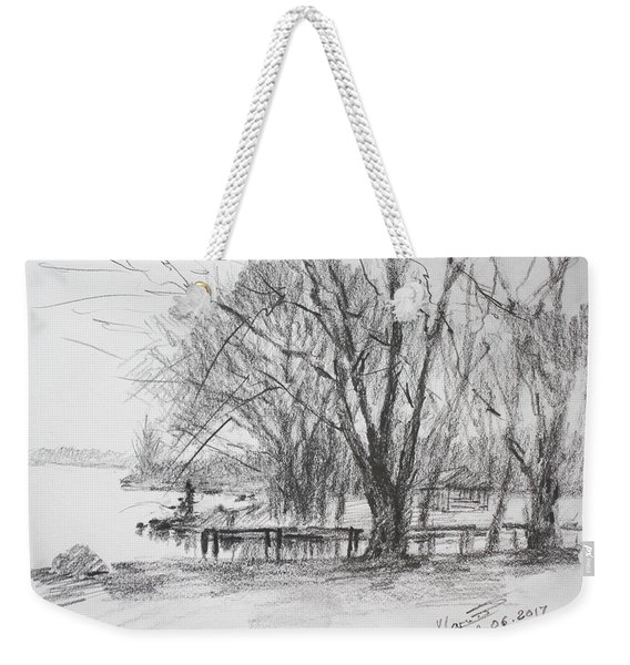 Fisherman's Park Weekender Tote Bag