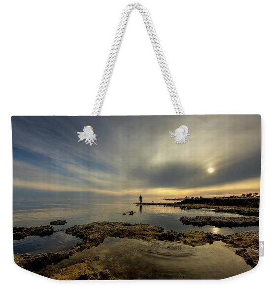 Fisherman's Zen  Weekender Tote Bag