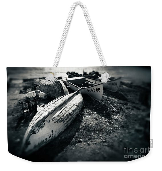 Fishing Boats At The Old Port Weekender Tote Bag