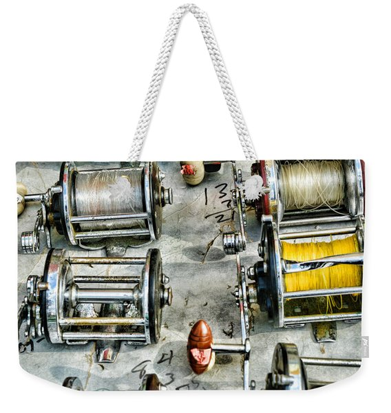 Fishing - Fishing Reels Weekender Tote Bag