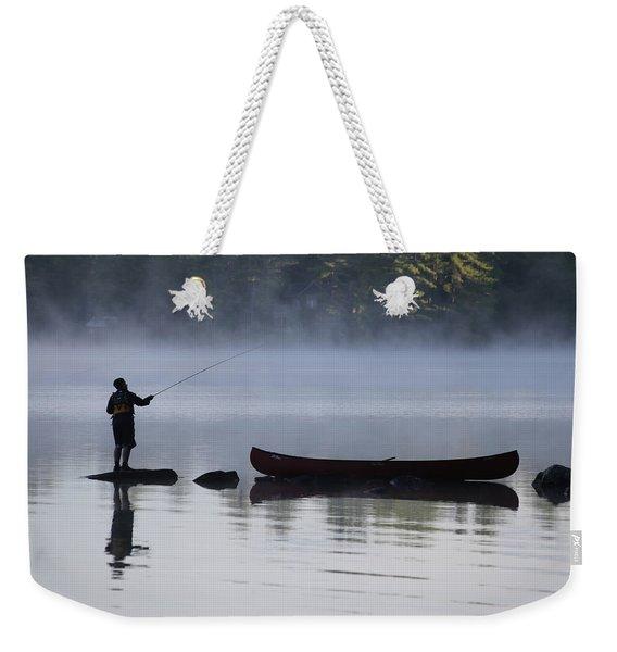 Fishing From The Rocks Weekender Tote Bag