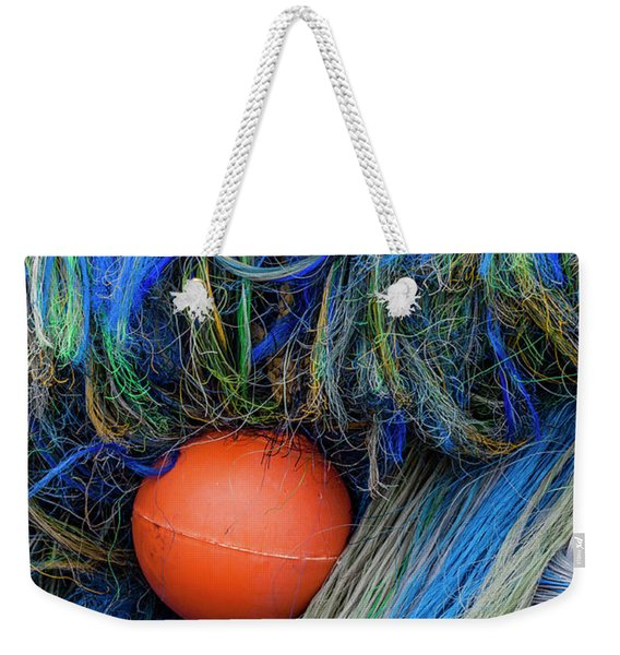 Fishing Nets And Buoy Weekender Tote Bag