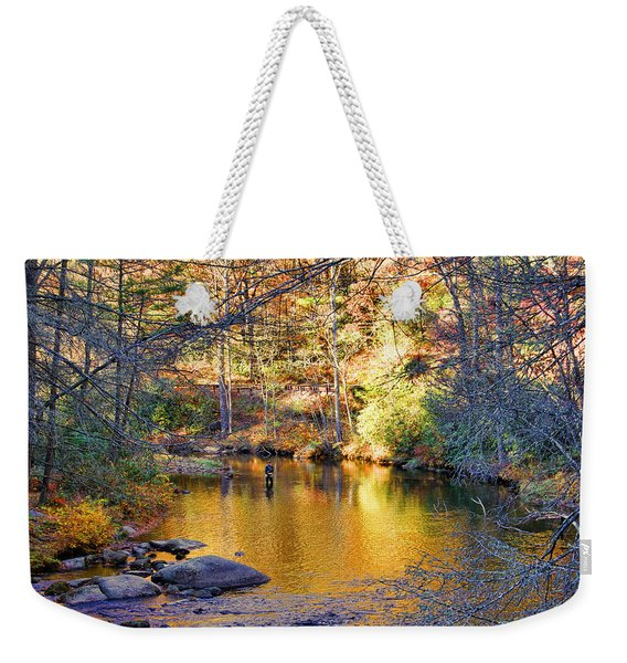 Fishing On The Cullasaja By H H Photography Of Florida Weekender Tote Bag