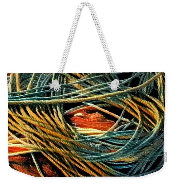 Fishing  Rope  Weekender Tote Bag