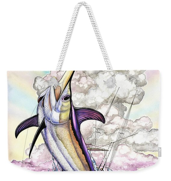 Fishing Swordfish Weekender Tote Bag