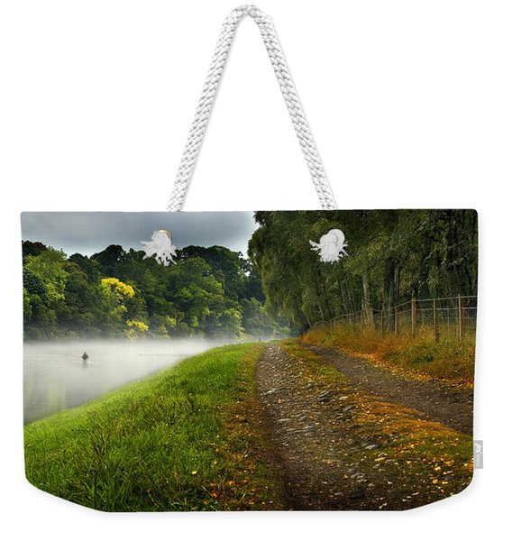 Fishing The River Beauly Weekender Tote Bag