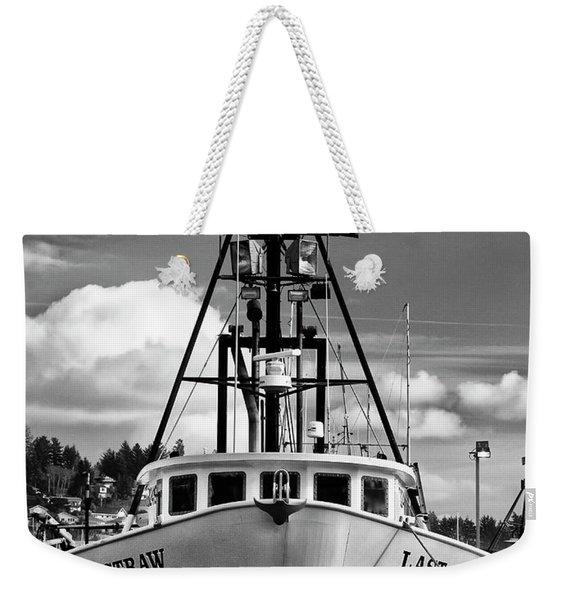 Fishing Vessel Last Straw Weekender Tote Bag