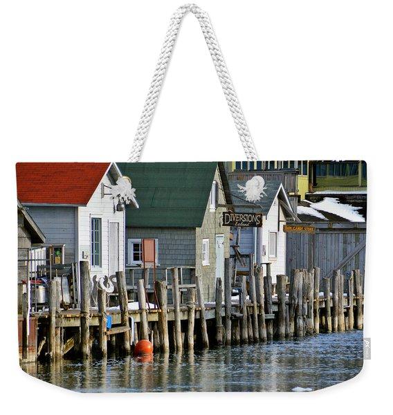 Fishtown In Leland Weekender Tote Bag