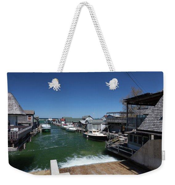 Fishtown Michigan Weekender Tote Bag
