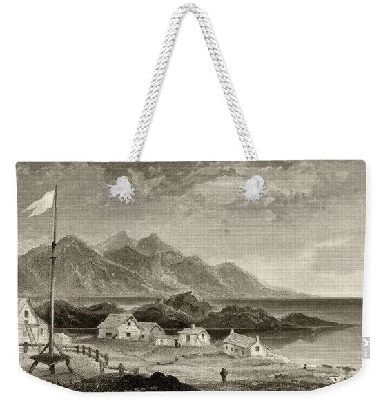 Fiskenaes From The Governors House From Weekender Tote Bag