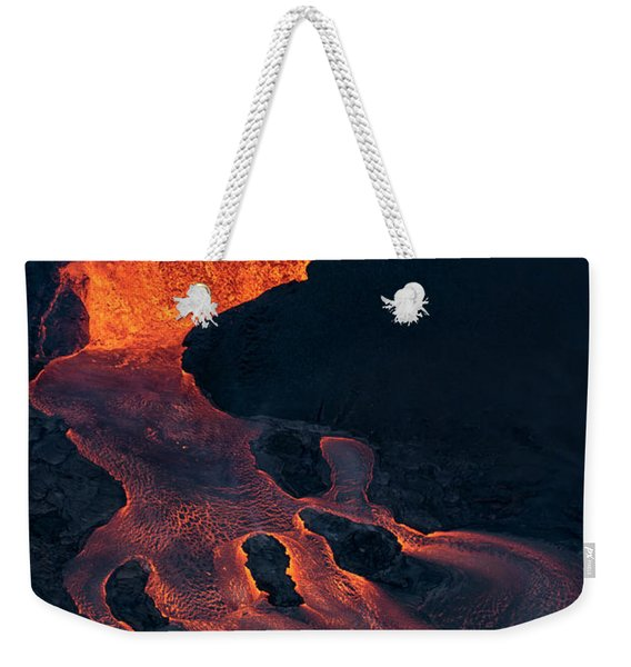 Fissure 8 Weekender Tote Bag