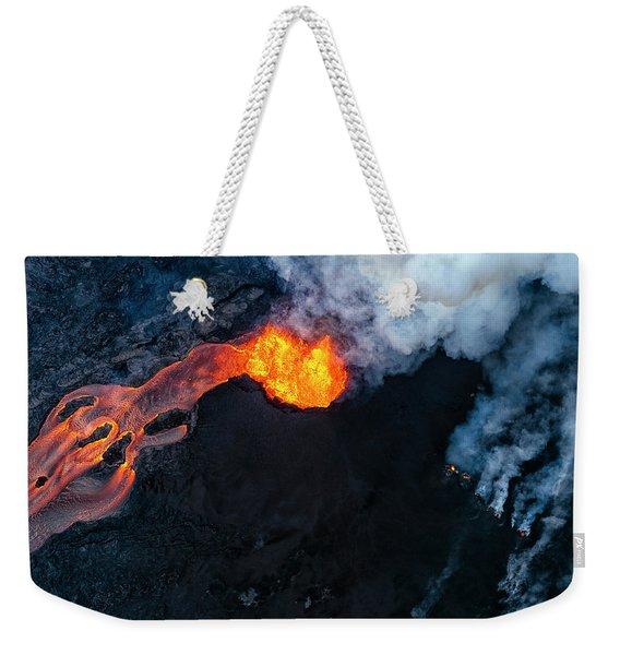 Fissure 8 Cinder Cone Weekender Tote Bag