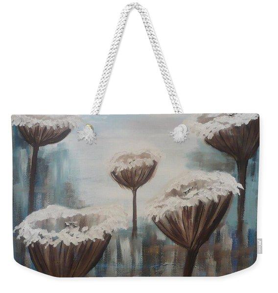 Five Flowers Weekender Tote Bag