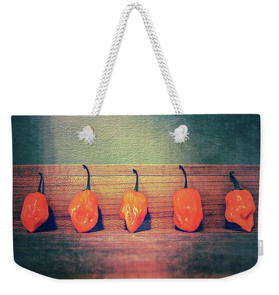 Five Habaneros Weekender Tote Bag