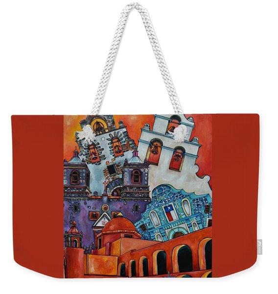 Five Missions Weekender Tote Bag