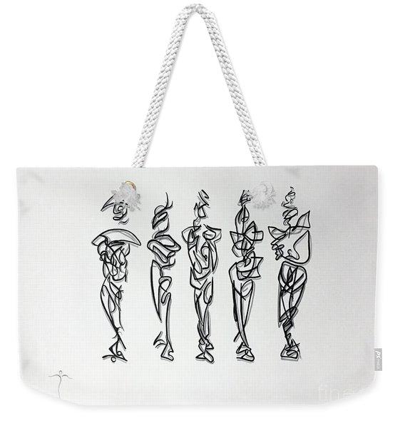Five Muses Weekender Tote Bag