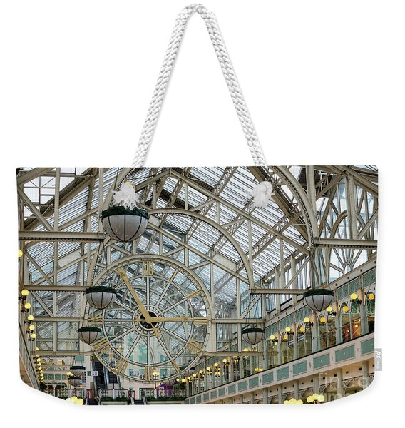 Five To Three - At St. Stephens Green Shopping Centre In Dublin Weekender Tote Bag