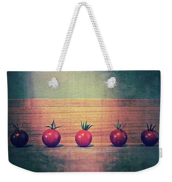 Five Tomatoes Weekender Tote Bag