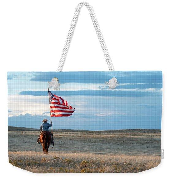 Flag Of Freedom Weekender Tote Bag