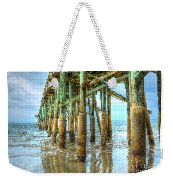 Flagler Pier Weekender Tote Bag