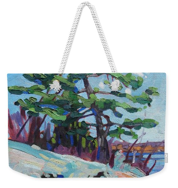 Flags And Contrails Weekender Tote Bag