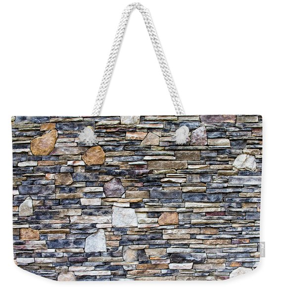 Flagstone Wall Weekender Tote Bag