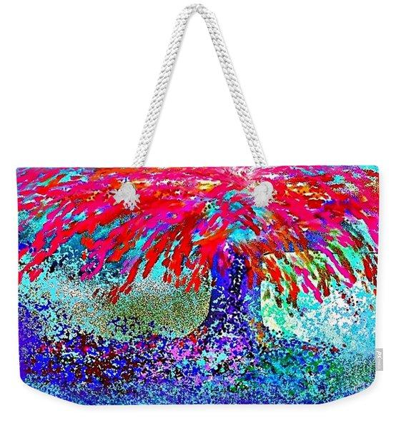 Flamboyan Weekender Tote Bag