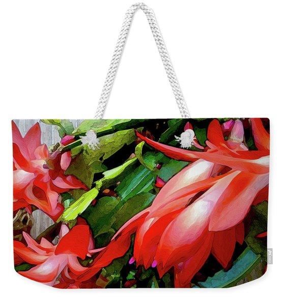 Flamboyance Weekender Tote Bag
