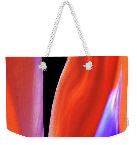 Flame - Bird Of Paradise   Weekender Tote Bag