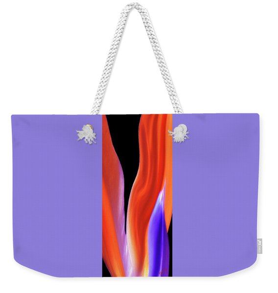 Flame - Bird Of Paradise   Weekender Tote Bag