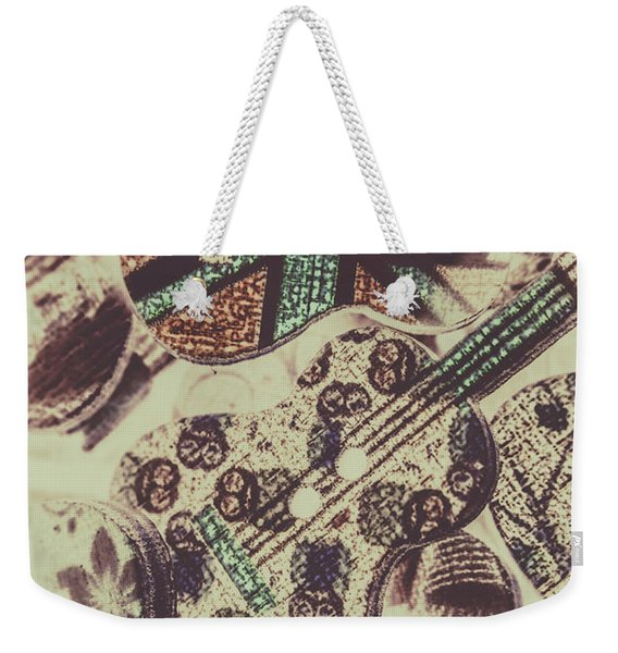 Flamenco And Folk Mix Weekender Tote Bag