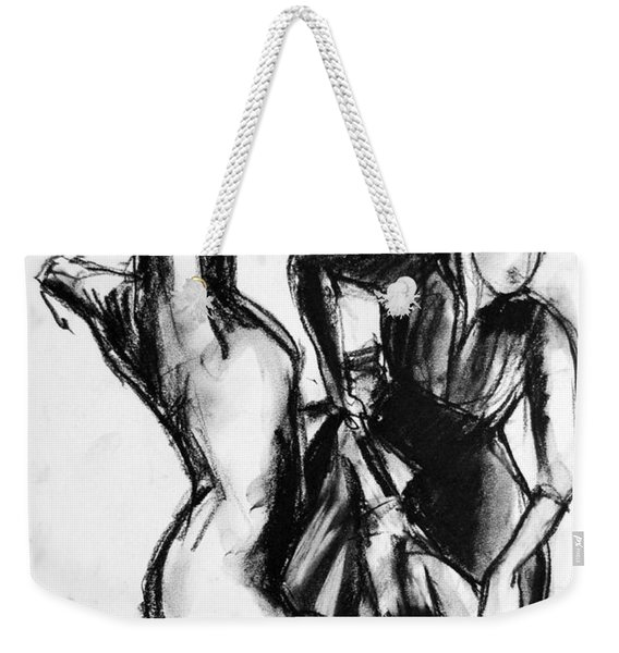 Flamenco Sketch 1 Weekender Tote Bag