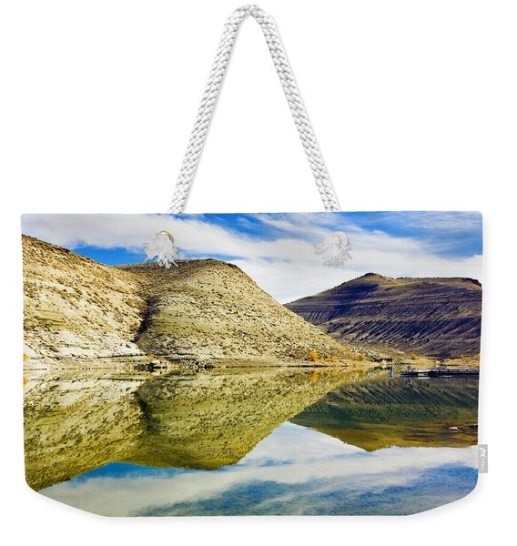 Flaming Gorge Water Reflections Weekender Tote Bag