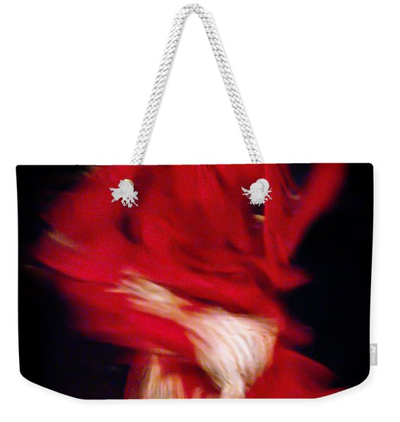 Weekender Tote Bag featuring the photograph Flamenco Series 32 by Catherine Sobredo