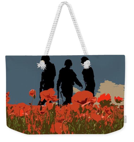 Flanders Fields 5 Weekender Tote Bag