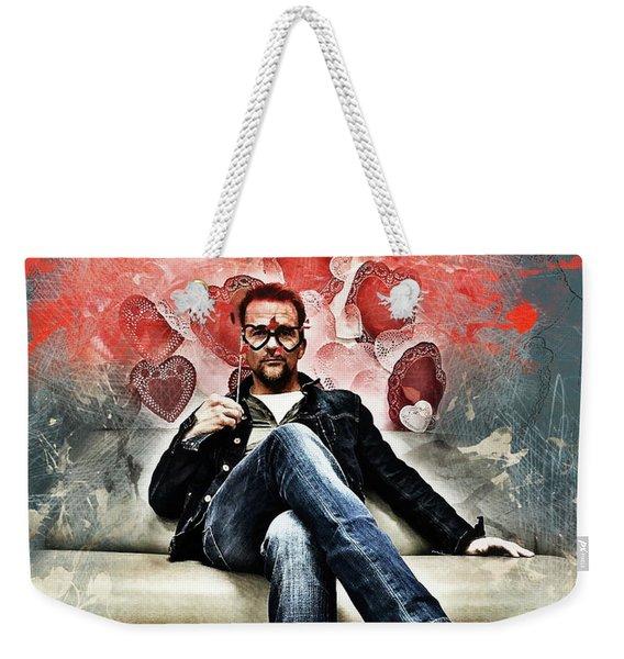 Flanery Valentine Weekender Tote Bag