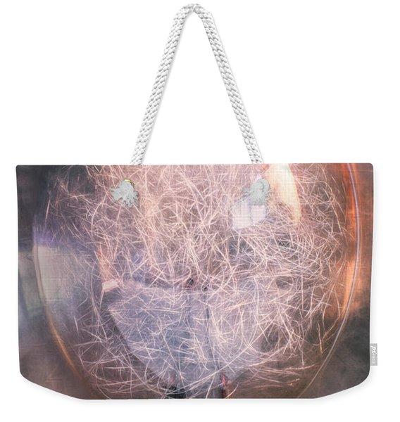Flash Bulb Weekender Tote Bag
