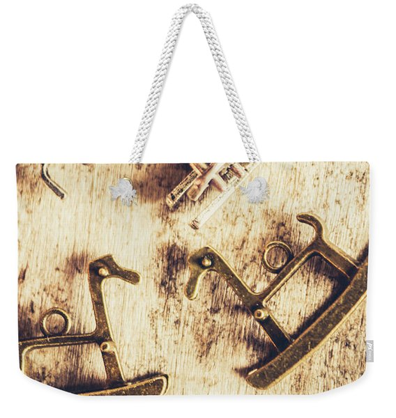 Flashback From The Wooden Toy Box Weekender Tote Bag