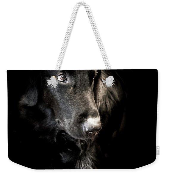 Flat Coated Retriever Weekender Tote Bag