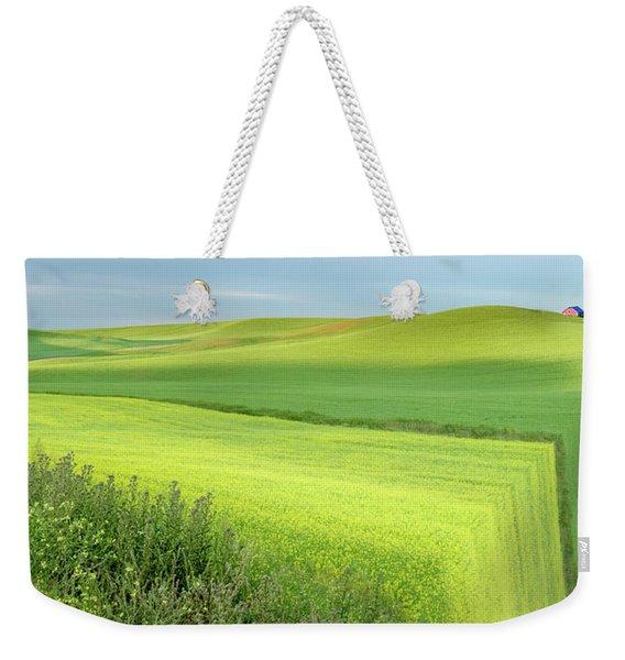 Flat Earth Weekender Tote Bag