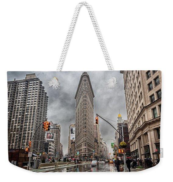 Flatiron Loveliness Weekender Tote Bag