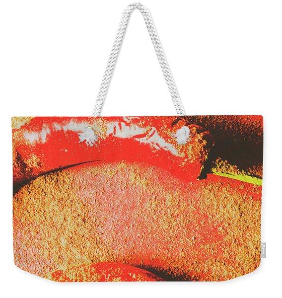Flavor Of The East Weekender Tote Bag