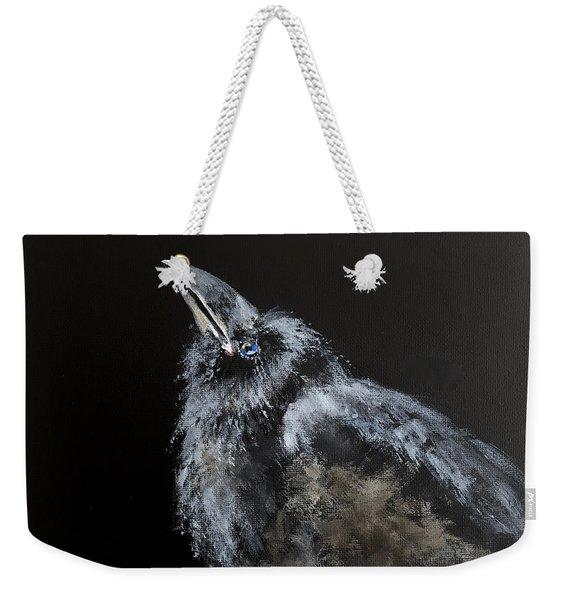 Fledgling Raven Weekender Tote Bag