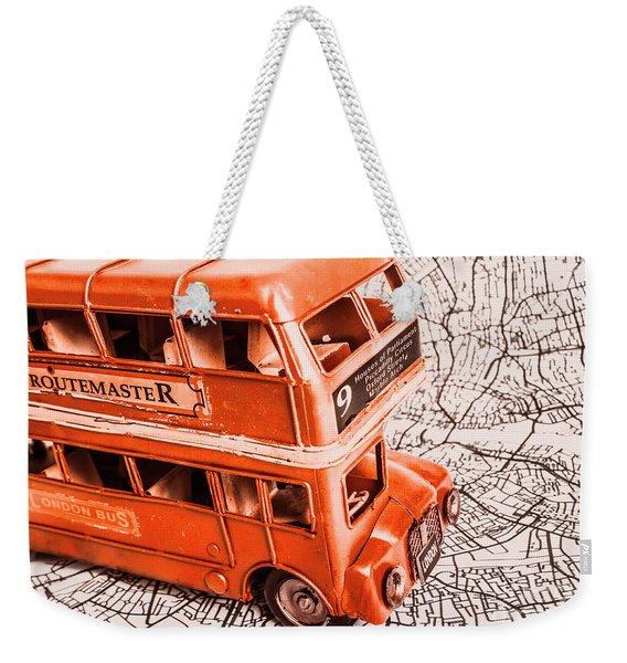 Fleet Street Weekender Tote Bag