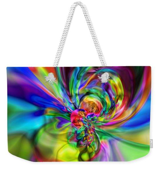 Flexibility 17caa Weekender Tote Bag